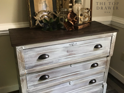 Eastlake Washstand Rebuild ~ Whitewash Paint Makeover