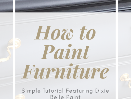 How To Paint a Wood Chest