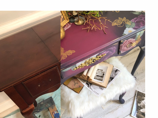 Giving Back To The Community Through Paint Positivity & Dixie Belle Vanity Makeover