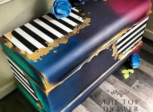 Whimsical Cedar Chest ~ Furniture Makeover with Dixie Belle Paint!