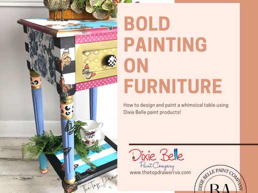 Painting a Whimsical Table