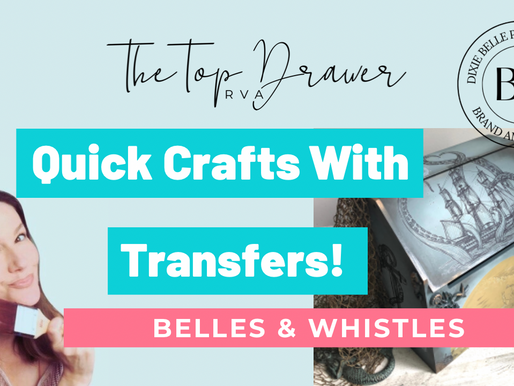Nautical Life Transfer - Quick Crafts From Dixie Belle