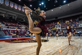 Roots Acro Dance Team Performing at Griz Half Time Show