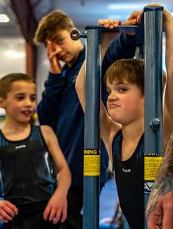 Boy's Gymnastics Team