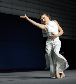 Dancer Performing Solo