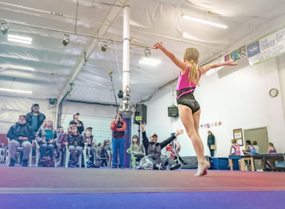 gymnastics victory