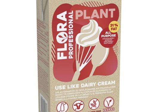 תחליף שמנת פרווה 31% FLORA PLANT