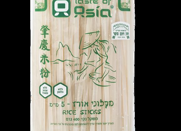 """אטריות אורז 5 מ""""מ - טייסט אוף אסיה"""