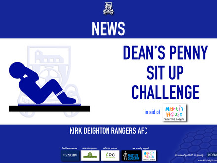 Dean's Penny Sit Up Challenge