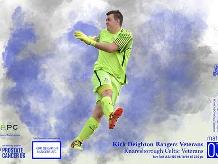 Kirk Deighton Rangers Veterans v Knaresborough Celtic Veterans Match Preview.