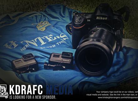 KDRAFC Media Available To Sponsor.