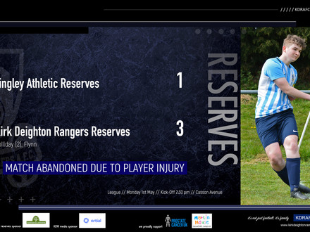 Tingley Athletic Res 1 v 3 Kirk Deighton Rangers Res