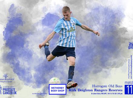 Harrogate Old Boys v Kirk Deighton Rangers Reserves Match Preview.
