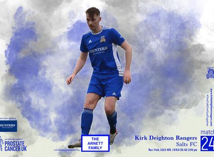 Kirk Deighton Rangers v Salts FC Match Preview.