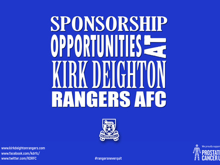 Sponsorship Opportunities At Rangers