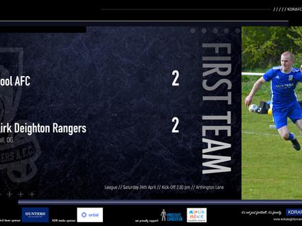 Pool AFC 2 v 2 Kirk Deighton Rangers