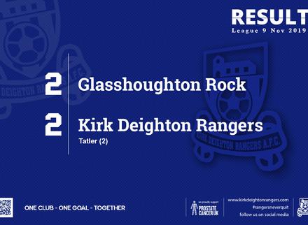 Match Report: Glasshoughton Rock 2 v 2 Kirk Deighton Rangers.