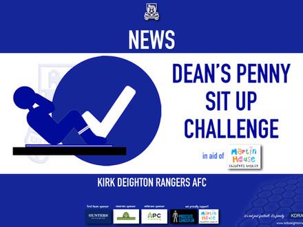 Dean Completes Challenge.