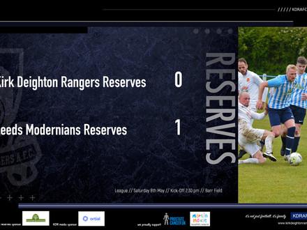 Kirk Deighton Rangers Res 0 v 1 Leeds Modernians Res