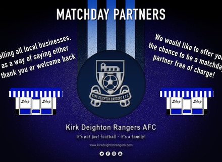 Free Matchday Partner Offer