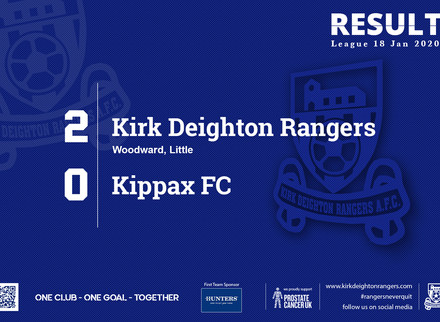 Match Report: Kirk Deighton Rangers 2 v 0 Kippax FC