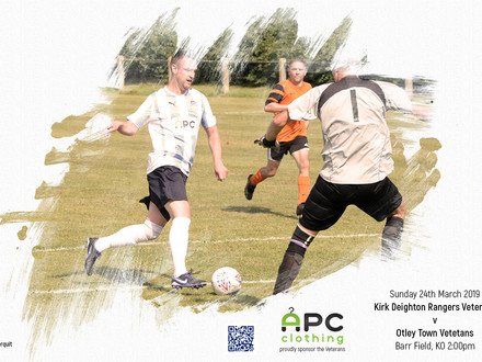 Match Preview: Otley Town Veterans
