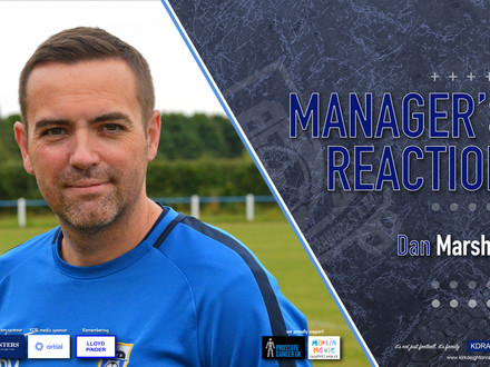 Manager's Reaction - Wetherby Athletic