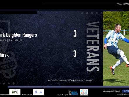 Rangers Veterans 3 v 3 Thirsk Veterans