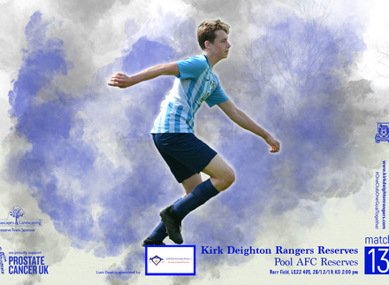 Kirk Deighton Rangers Res v Pool AFC Match Preview.