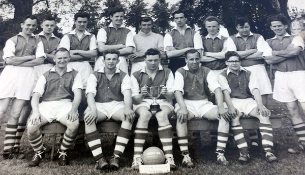 Kirk Deighton Rangers 1955-1956