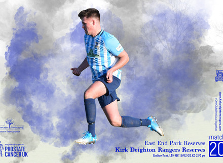 East End Park Reserves v Kirk Deighton Rangers Reserves Match Preview.