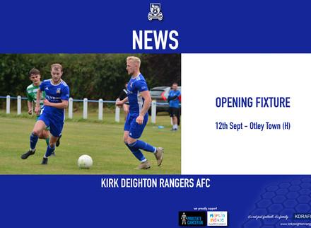 Season Opening Fixtures