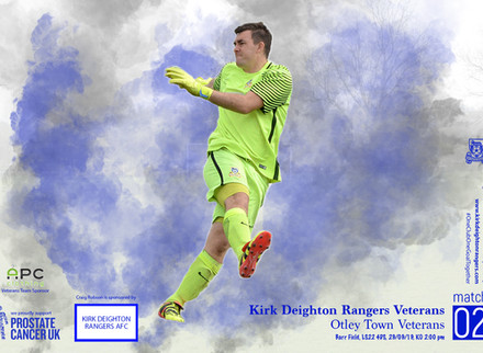 Kirk Deighton Rangers Veterans v Otley Town Veterans Match Preview