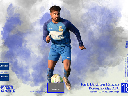 Kirk Deighton Rangers v Boroughbridge AFC Match Preview.