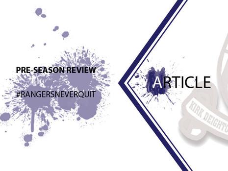 Pre-Season Review