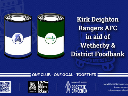 Rangers And Wetherby & District Foodbank