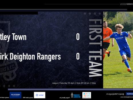 Otley Town 0 v 0 Rangers