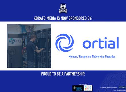 Ortial Sponsor KDRAFC Media.