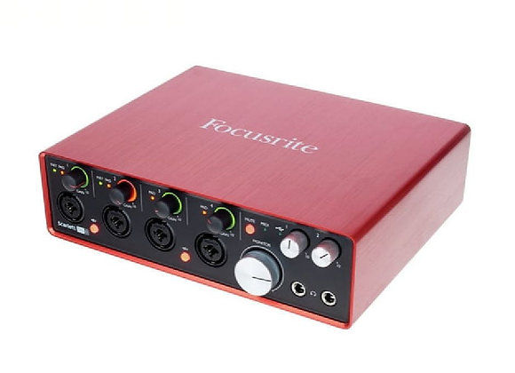 Scarlett 18i8 FOCUSRITE - Interface audio/MIDI