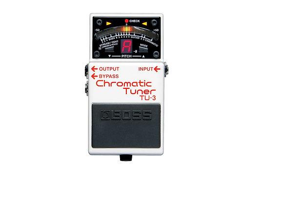 TU-3 Boss Afinador cromatico de pedal para guitarra o bajo
