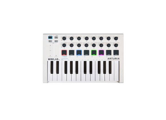 MiniLab MKII ARTURIA - Teclado controlador MIDI 25 teclas