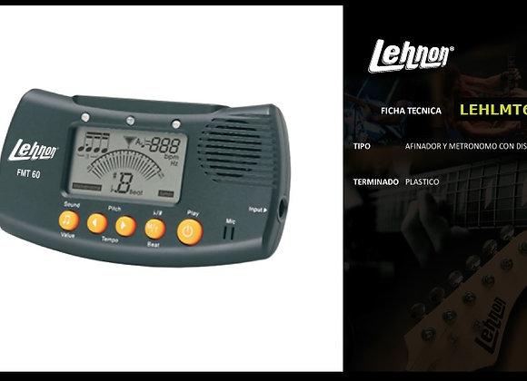 Metrònomo afinador generador de tono LEHNON