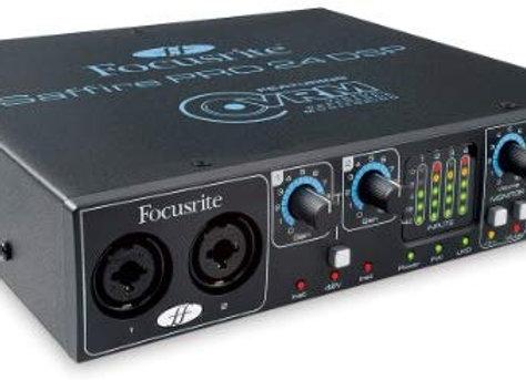 Saffire Pro 24 DSP Focusrite - Interface Firewire