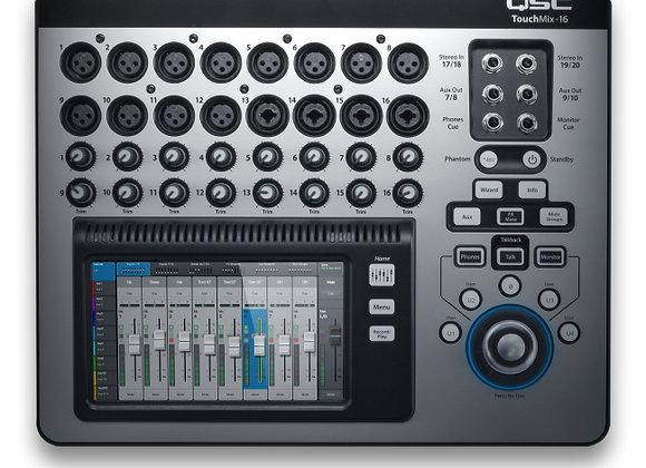 TouchMix 16 QSC - Mezcladora digital 16 canales