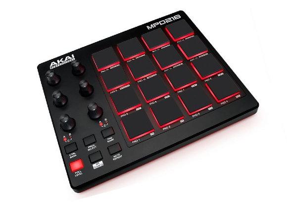 MPD218 AKAI - Controlador MIDI pad