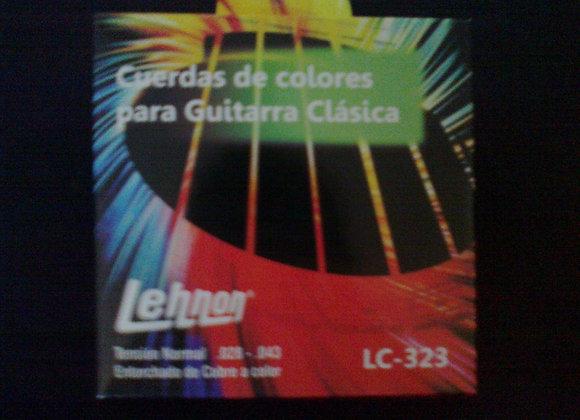 Cuerdas de colores para guitarra clàsica LEHNON
