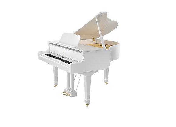 GP609-PW - Gran piano digital color blanco pulido