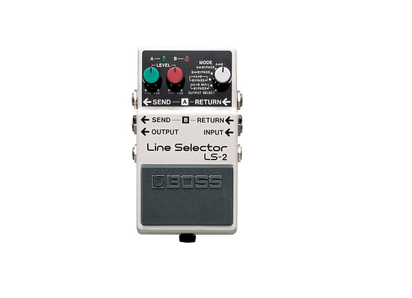 Ls-2 Boss Pedal compacto seleccionador de linea