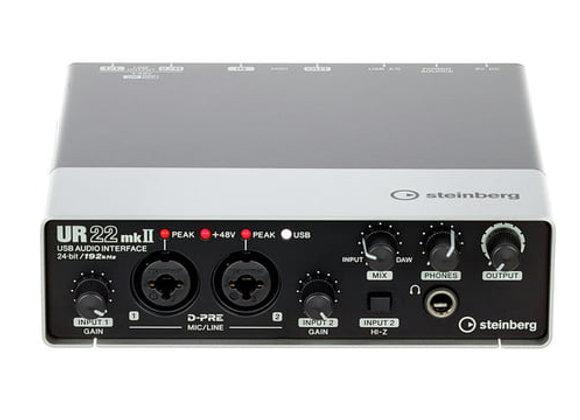 UR22 MKII Steinberg - Interface audio/MIDI