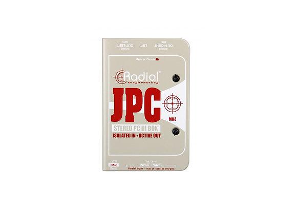 JPC - Radial Caja directa activa
